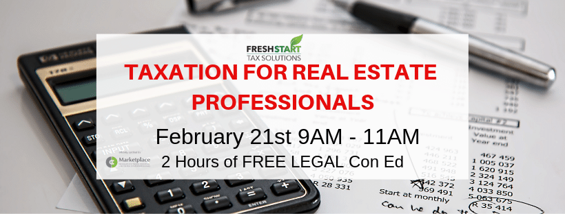 TAXATION FOR REAL ESTATE PROFESSIONALS 2019 (1)